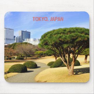 Shinjuku Gyoen nationaler Garten in Tokyo, Japan Mousepad