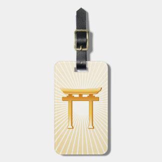 Shintoistisches Symbol Kofferanhänger
