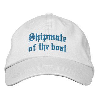 Shipmate des Bootes Besticktes Baseballcap