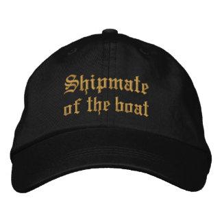 Shipmate des Bootes Bestickte Kappe