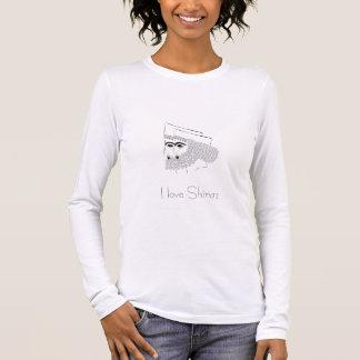 Shiraz1, i-Liebe Shiraz Langarm T-Shirt