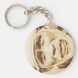 Shirdi Sai Kuchen-Schlüsselkette Standard Runder Schlüsselanhänger