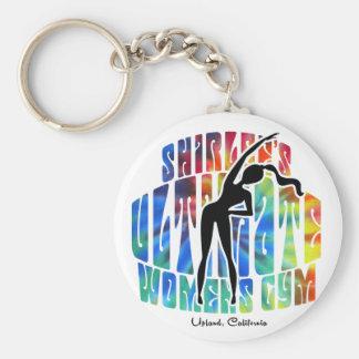 Shirlees die Turnhalle Keychain entscheidender Schlüsselanhänger