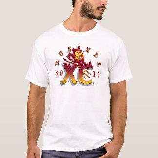 Shirt 1 roten Teufels 2010 Russells HS XC