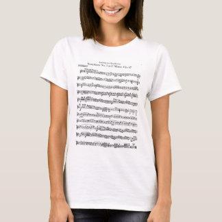 Shirt Beethoven-Symphonie-Nr. 5