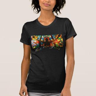 Shirt behalten den Glauben-Regenbogen