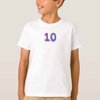 Shirt der Nr.-zehn
