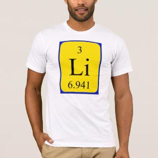 Shirt des Elements 3 - Lithium