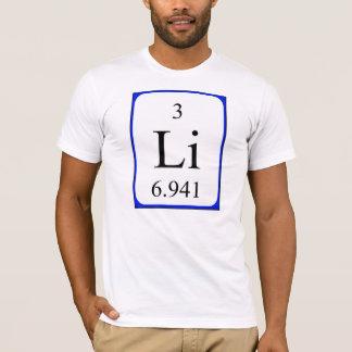 Shirt des Elements 3 - Lithiumweiß