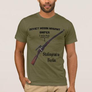 Shirt des Scharfschütze-WW2 - sowjetischer Russe