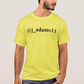 Shirt des Twitter-@j_adams11