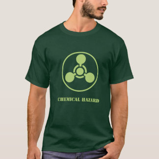 Shirt-Dunkle Chemikalie hazard.ai T-Shirt