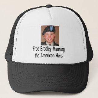 Shirt_free_bradley_manning Truckerkappe