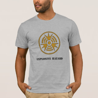 Shirt-Gefahr explosives Hazard.ai T-Shirt