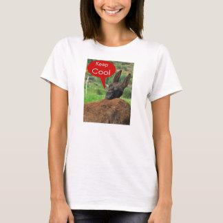 Shirt: Glücklicher Esel - behalten Sie cool T-Shirt