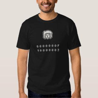 Shirt-Grafikt-stück des Pixels 8bit der traurigen Shirts