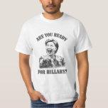 Shirt Hillary Clinton - sind Sie zu Hillary