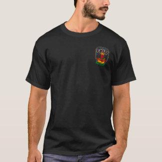 Shirt Krewe de Chili (aufgehoben/Schwarzes)