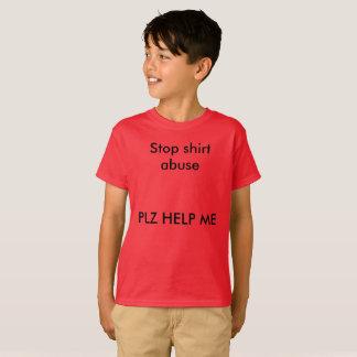 Shirt-Missbrauchs-lustige Kinderschulfantastischer T-Shirt