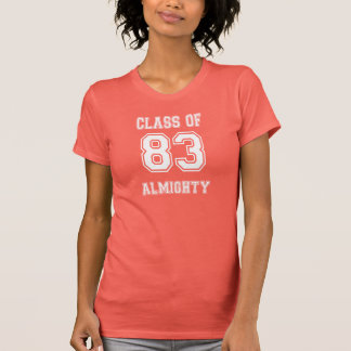 Shirt mit 1983 Klassen