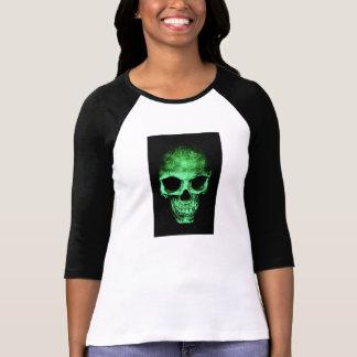 Shirt mit dem grünen Schädel
