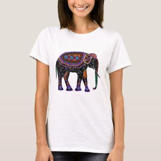 Shirt mit schwarzem Elefanten