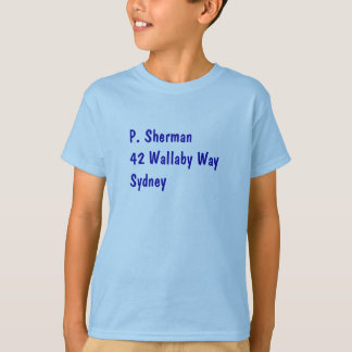 Shirt P. Sherman Nemo