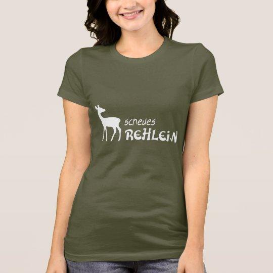 shirt reh rehlein bambi kitz jagd jägerin