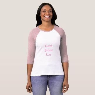 Shirt-Rosazitate der Frau T-Shirt