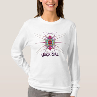 Shirt-Yogamädchen T-Shirt