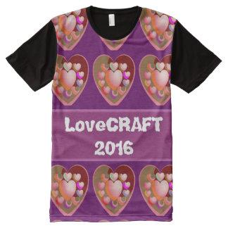 Shirtcraft T - Shirt ganz über Druckmode Bändern