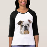 Shirts englischer Bulldoggen-Dame