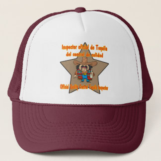 Shirts und Geschenke Tequila-Inspektor Cinco Des Truckerkappe