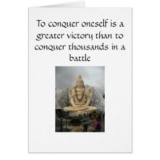Shiva Karte - Selbst erobern