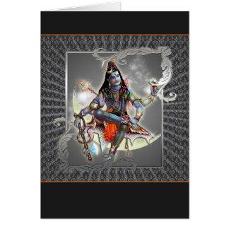 Shiva - Magie des Graus - Karte, Gruß, Anmerkung Karte