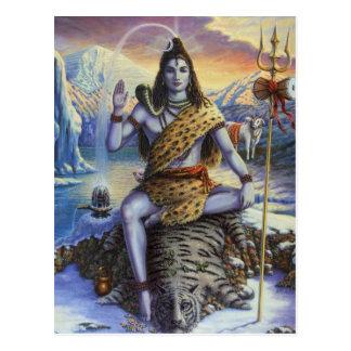 Shiva Mahadeva Postkarte