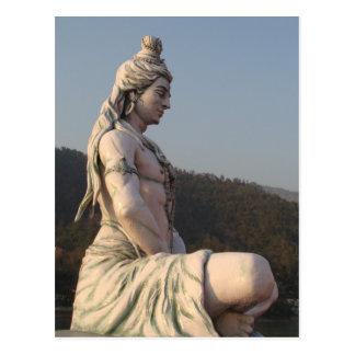 Shiva Postkarte