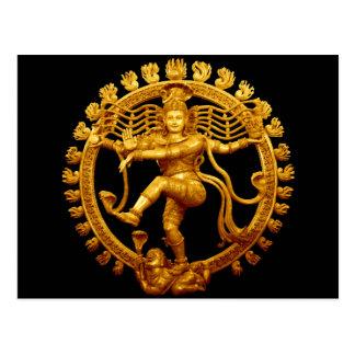 Shivas Tanz Postkarte