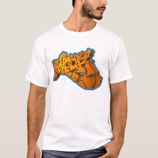 SHOCK 3D (3D-Graffiti auf T-Shirt) T-Shirt