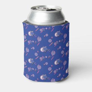 Shooting Stars und Kometen-blaues Soda Dosenkühler