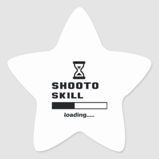 Shooto Fähigkeit Laden ...... Stern-Aufkleber