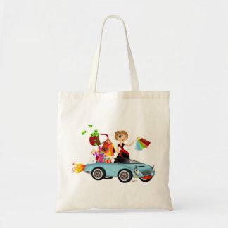 Shopaholic in der Art Tasche
