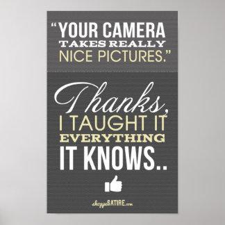 Shoppe-Satire - Spaß für Fotograf-Druck Plakate
