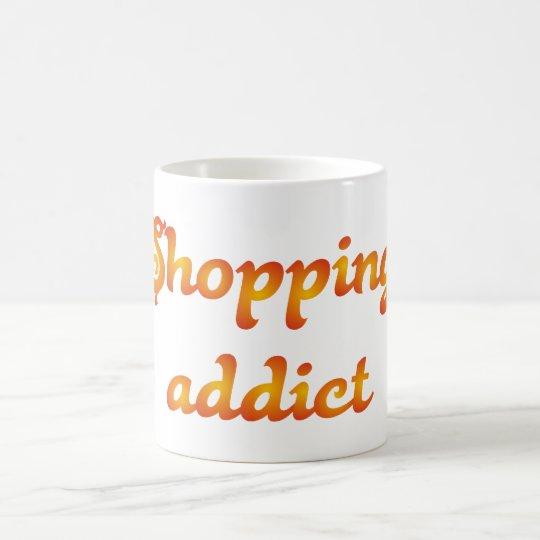 shopping addict kaufsüchtig kaffeetasse