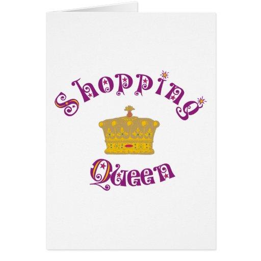 shopping Queen Grußkarte