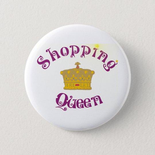 shopping Queen Runder Button 5,7 Cm