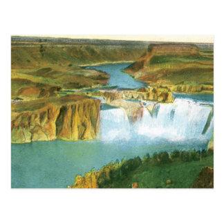 Shoshone-Fälle Postkarte