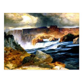 Shoshone-Fälle, Snake River, Idaho Postkarte