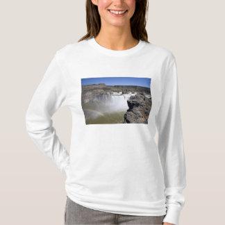 Shoshone fällt auf den Snake River in Doppelfälle, T-Shirt