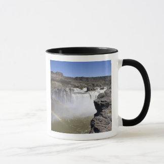 Shoshone fällt auf den Snake River in Doppelfälle, Tasse